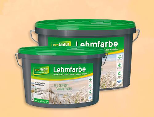 Pronatur Lehmfarbe
